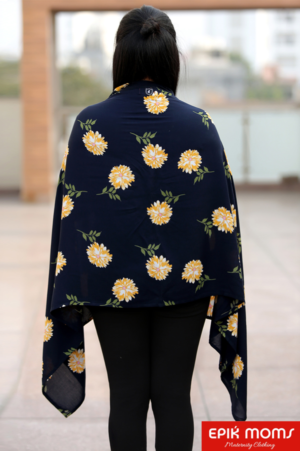 Hibiscus Bloom Maternity and Nursing Stole