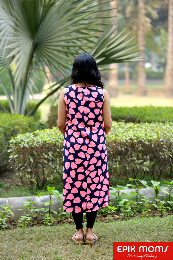 Love Struck Maternity and Nursing Kurta