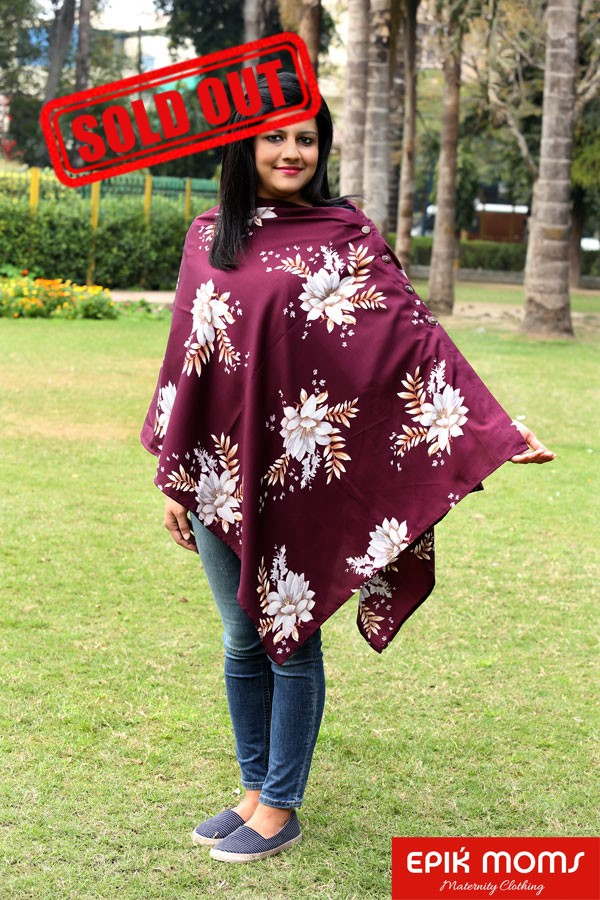 Ruby Rouge Maternity and Nursing Stole