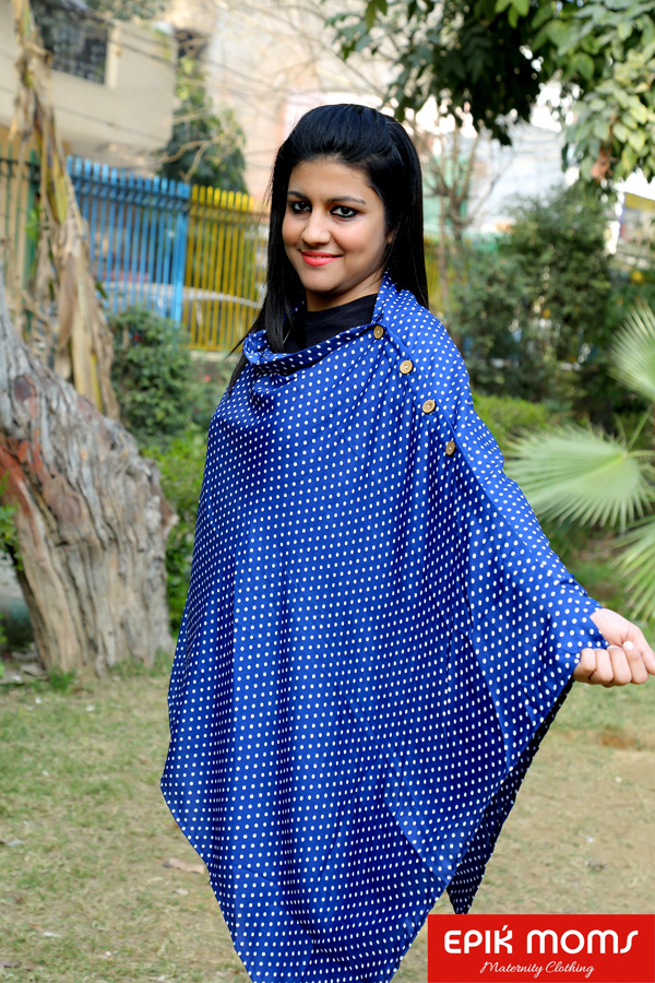 Royal Speckle Maternity and Nursing Stole