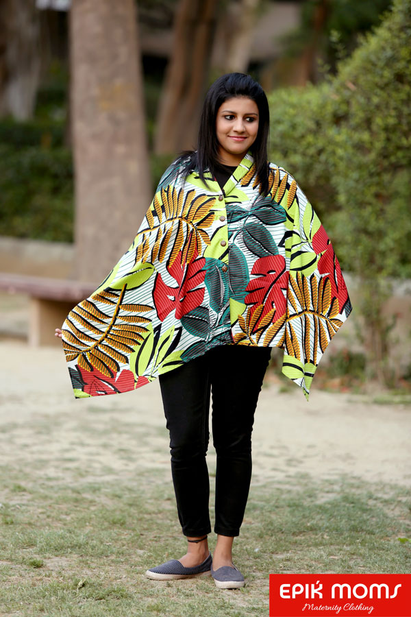 Ferns and Petals Maternity and Nursing Stole