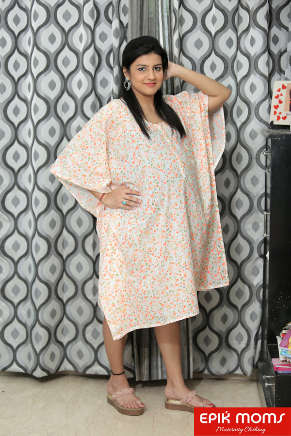 The Dreamboat Maternity and Nursing Kaftan