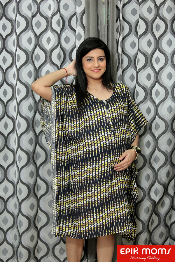 Hoop Loop Maternity and Nursing Kaftan