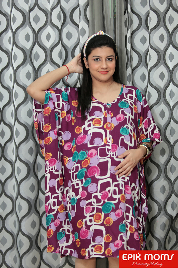 Mulberry Hills Maternity and Nursing Kaftan