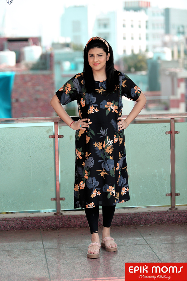 Beautiful Escape Maternity & Nursing Kurti