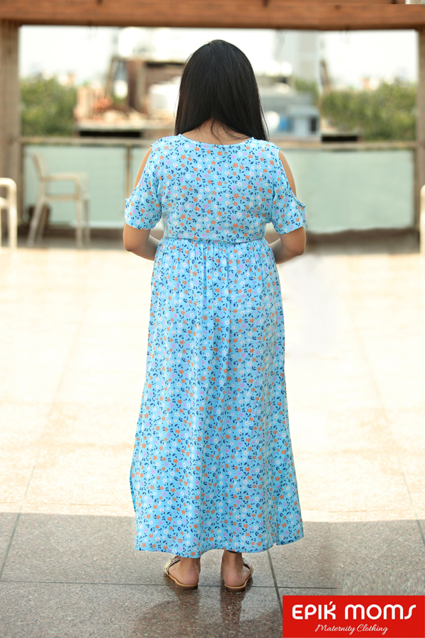Chimeric Dream Maternity and Nursing MAXI DRESS