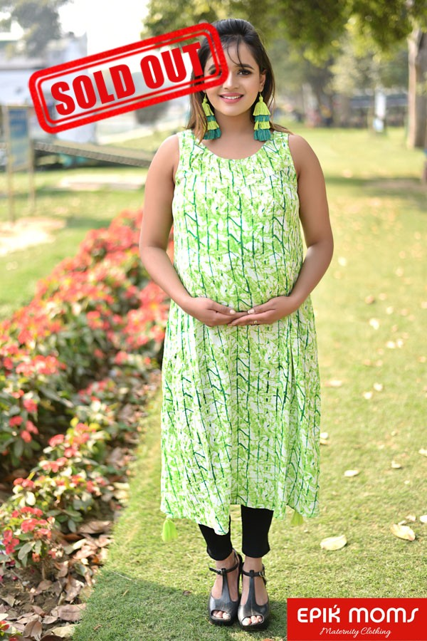 Welcome Summer – Green Stripes