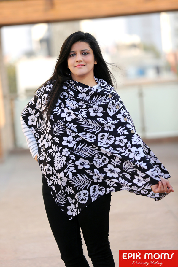 Serenity Floral Maternity & Nursing Stole