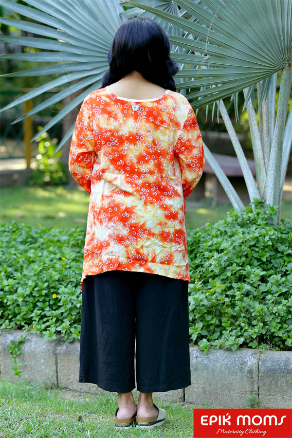 The Sunny Side Maternity Tunic