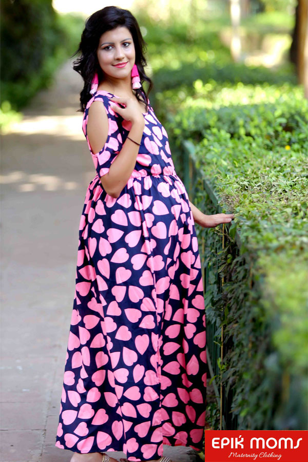 True Love Maternity & Nursing Maxi Dress